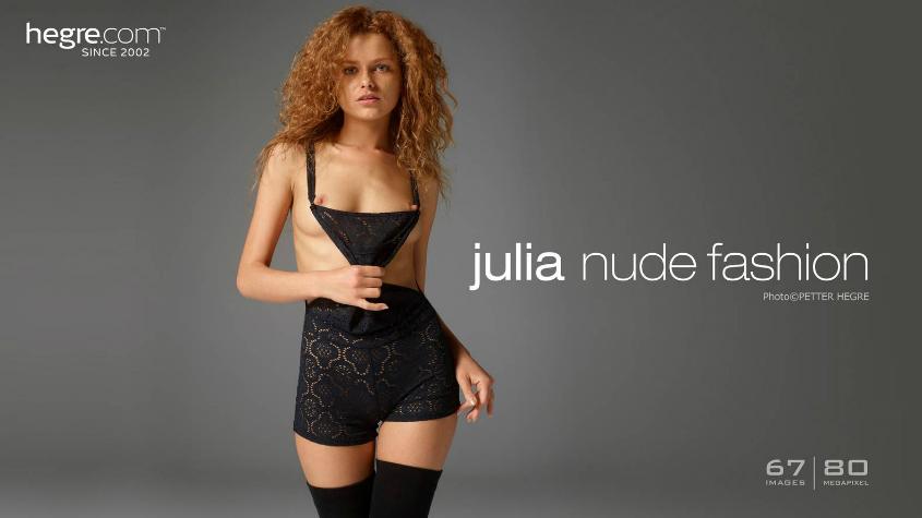 Julia Nude Fashion Hegre